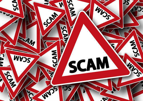 Scam hazard signs