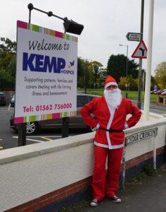 Matt Yarranton dressed as Santa
